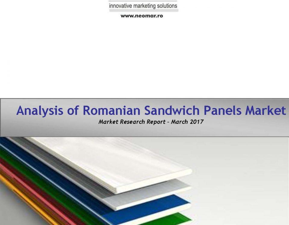 Piata panourilor sandwich din Romania, editia 2017