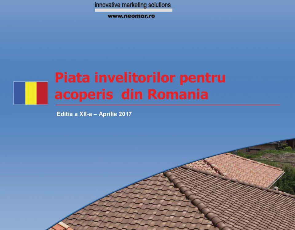 Piata invelitorilor pentru acoperis din Romania, editia 2017
