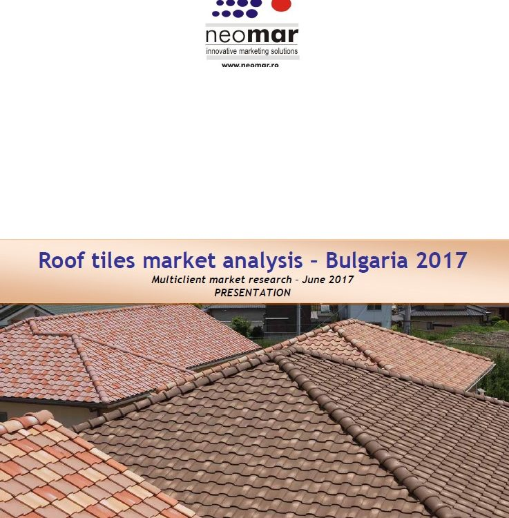 Piata invelitorilor pentru acoperis din Bulgaria, editia 2017