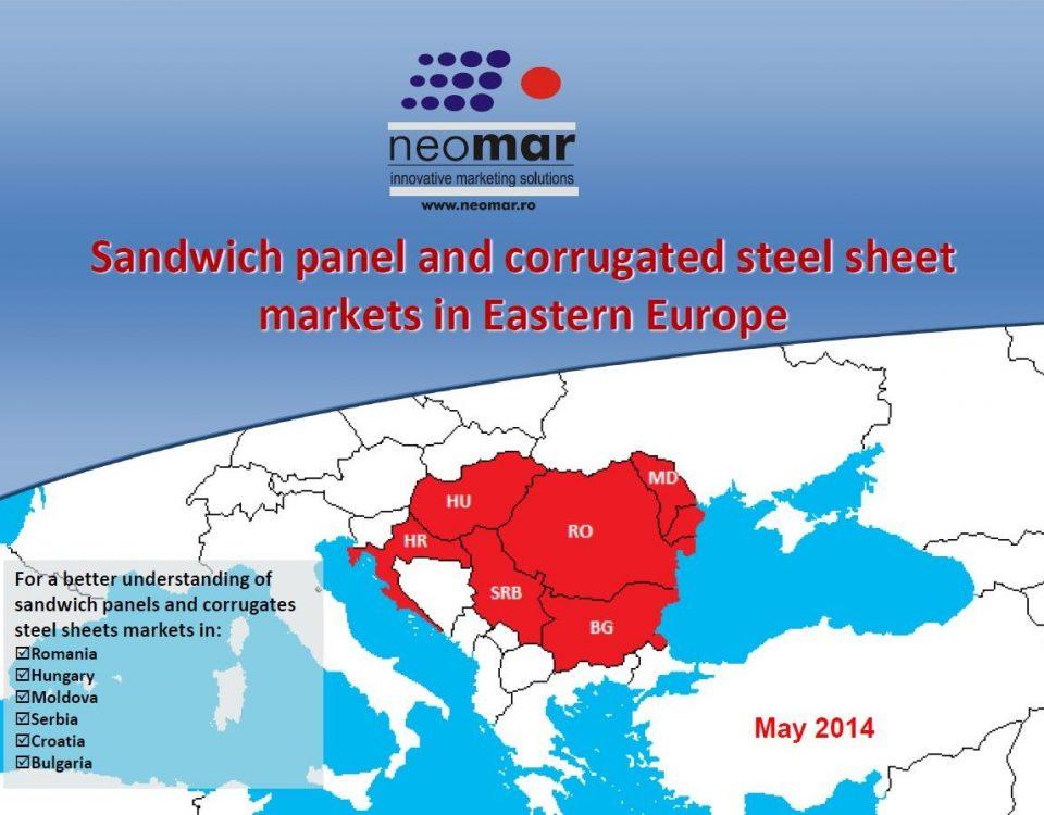 Piata panourilor sandwich in CEE (RO, HU, BG, MD, HR, SRB) - 2014