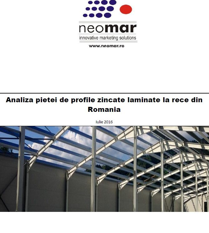 Analiza pietei profilelor zincate laminate la rece
