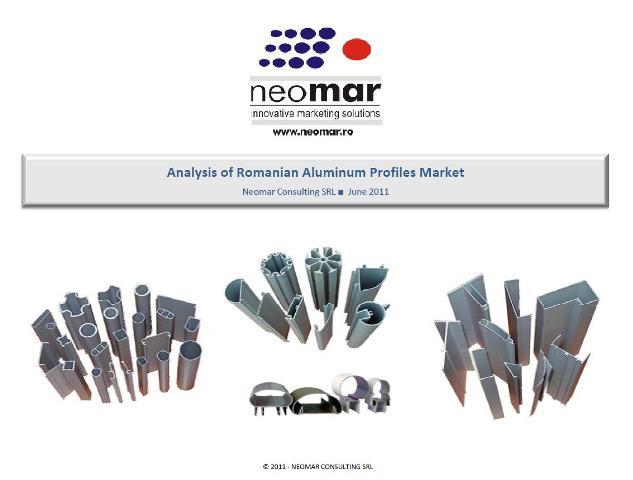 Analiza pietei profilelor din aluminiu extrudat din Romania