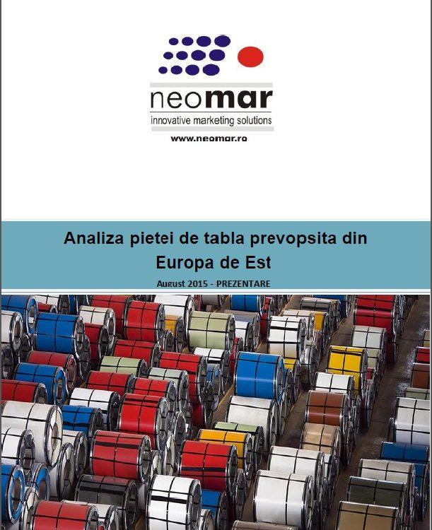 Analiza pietei de tabla prevopsita din Europa de Est