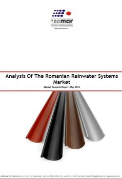 Piata de sisteme pluviale din Romania - 2014