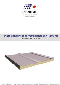 Analiza pietei romanesti de panouri termoizolante - 2012
