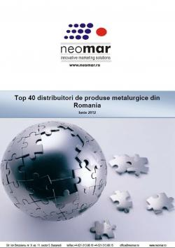 Top 40 distribuitori de otel din Romania