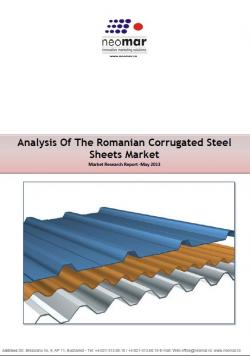 Analiza pietei de tabla cutata din Romania, editia 2014