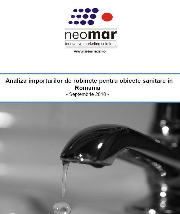 Pietei robinetilor pentru obiecte sanitare din Romania