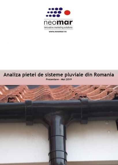 Crestere cu 11% a pietei sistemelor pluviale din Romania in 2019 11% growth for the rainwater systems market in Romania in 2019