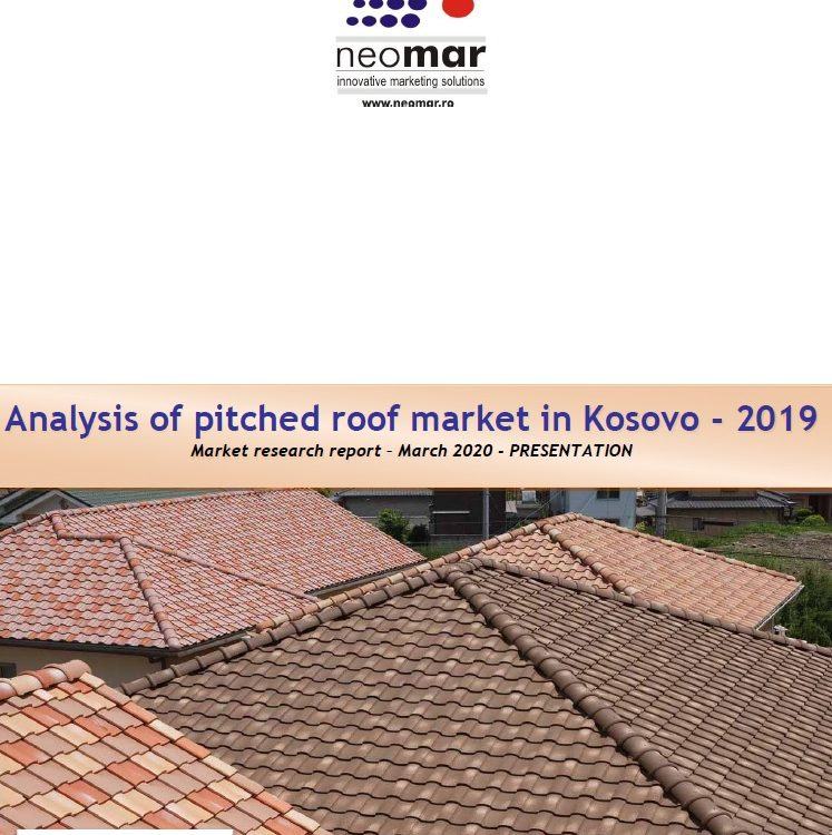 Piata invelitorilor pentru acoperis din Kosovo editia 2020