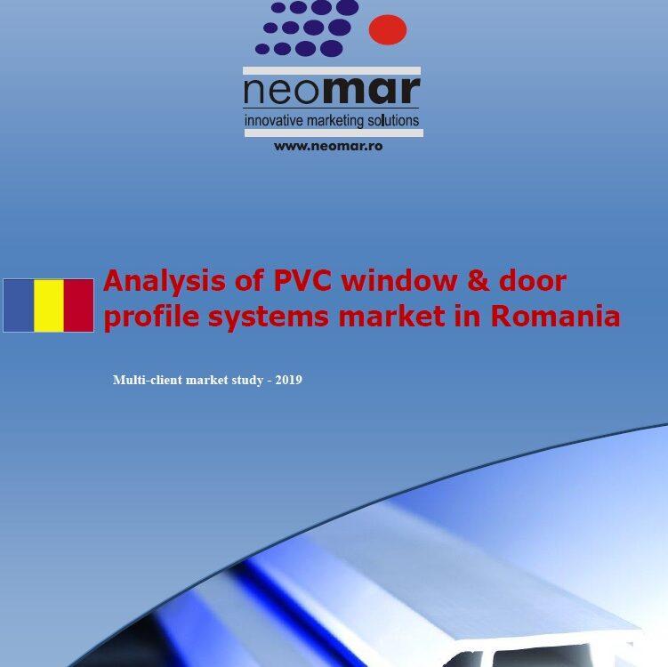 Piata de tamplarie termoizolanta din PVC - Romania 2019